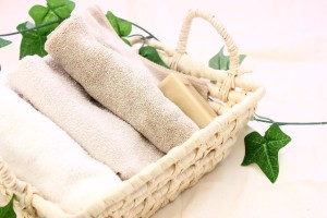 タオルは肌に優しい物を選びましょう。